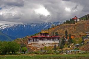 Paro, Bhutan. Photo by Jean-Marie Hullot, Flickr