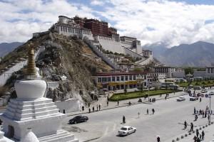 Potala Palace at Lhasa, China Photo by: Ondřej Žváček, Creative Commons